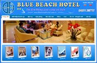 Website khách sạn Blue Beach