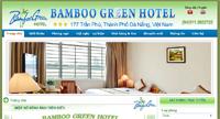 Website khách sạn Bamboo Green Hotel
