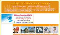 Website phòng vé Hải Tứ